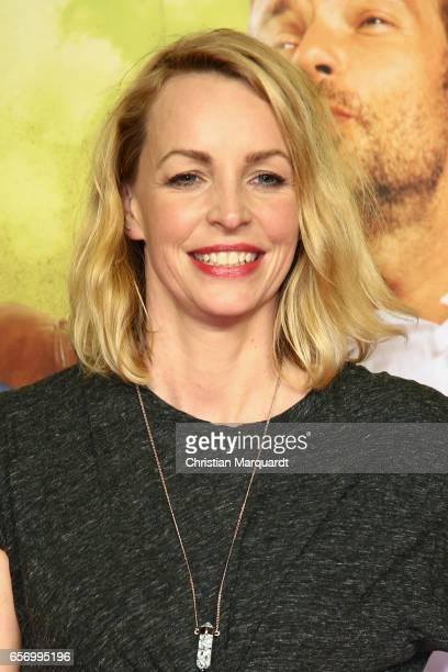 German Actress Simone Hanselmann attends the premiere of the film 'Lommbock' at CineStar on March 23, 2017 in Berlin, Germany.