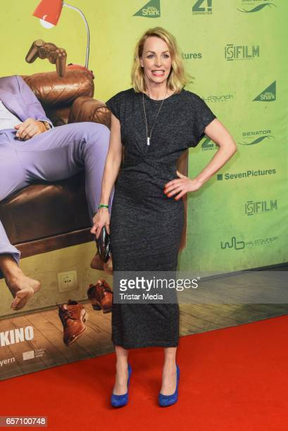 German actress Simone Hanselmann during the premiere of the film 'Lommbock' at CineStar on March 23 2017 in Berlin Germany