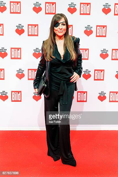 German actress Simone Thomalla attends the Ein Herz Fuer Kinder gala on December 3 2016 in Berlin Germany