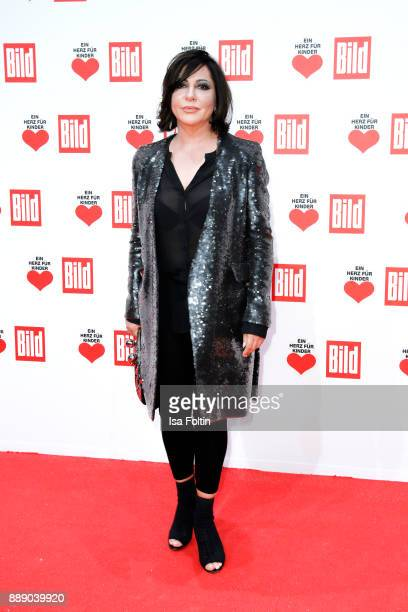 German actress Simone Thomalla attends the 'Ein Herz fuer Kinder Gala' at Studio Berlin Adlershof on December 9 2017 in Berlin Germany