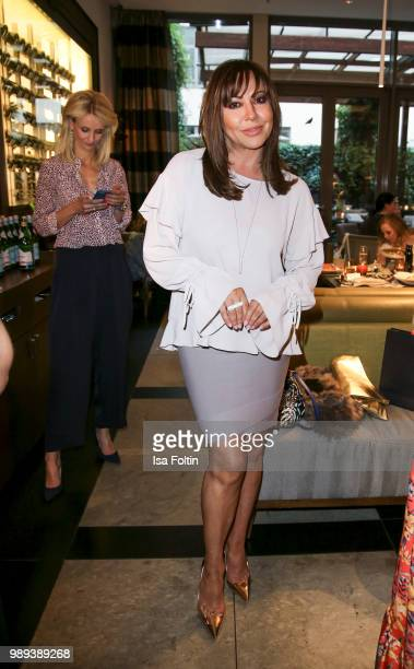 German actress Simone Thomalla during the Ladies Dinner at Hotel De Rome on July 1 2018 in Berlin Germany