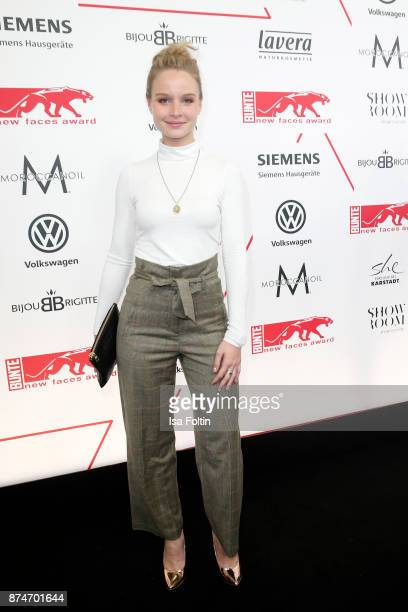 German actress Sonja Gerhardt attends the New Faces Award Style 2017 at The Grand on November 15 2017 in Berlin Germany