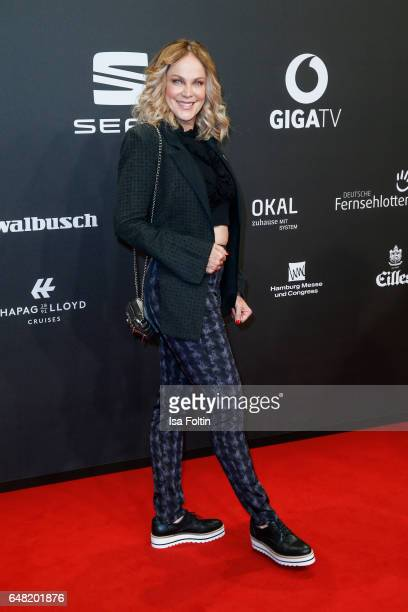 German actress Sonja Kirchberger arrives for the Goldene Kamera on March 4 2017 in Hamburg Germany