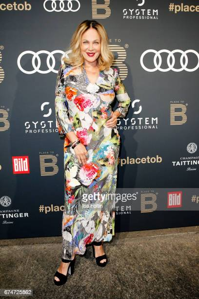 German actress Sonja Kirchberger attends the Place To Be Party after the Lola German Film Award on April 28 2017 in Berlin Germany