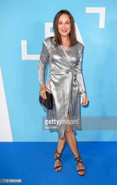 German actress Sonja Kirchberger attends the summer party of the German Producers Alliance on June 25, 2019 in Berlin, Germany.