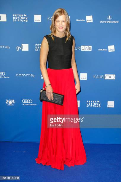 German actress Stephanie Stremler during the 6th German Actor Award Ceremony at Zoo Palast on September 22, 2017 in Berlin, Germany.