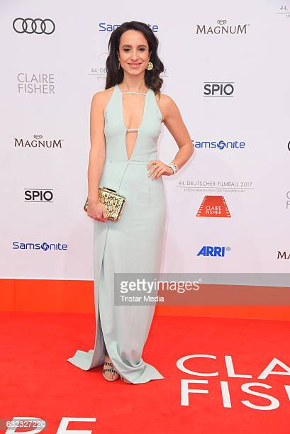 German actress Stephanie Stumph attends the German Film Ball 2017 at Hotel Bayerischer Hof on January 21, 2017 in Munich, Germany.
