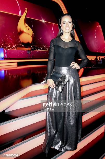 German actress Stephanie Stumph attends the Goldene Henne at Messe Leipzig on September 20, 2019 in Leipzig, Germany.