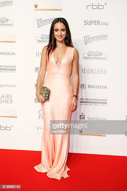 German actress Stephanie Stumph attends the Goldene Henne on October 28, 2016 in Leipzig, Germany.