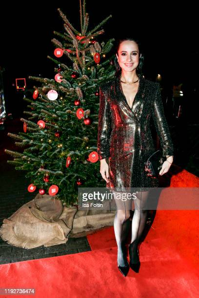 """German actress Stephanie Stumph during the Daimlers """"BE A MOVER"""" event at Ein Herz Fuer Kinder Gala at Studio Berlin Adlershof on December 7, 2019 in..."""