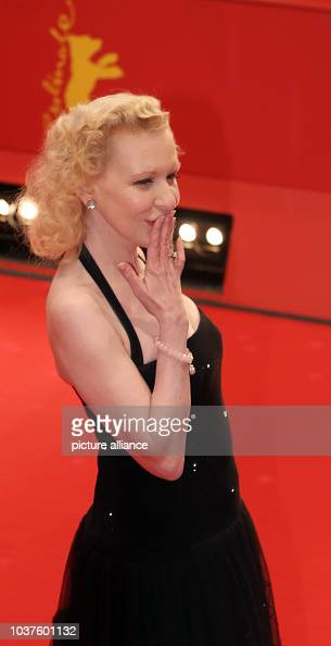 German actress Sunnyi Melles arrives for the opening gala
