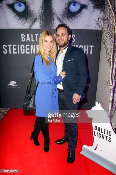 German actress Susan Sideropoulos and her husband Jakob Shtizberg during the 'Baltic Lights' charity event on March 10 2018 in Heringsdorf Germany...