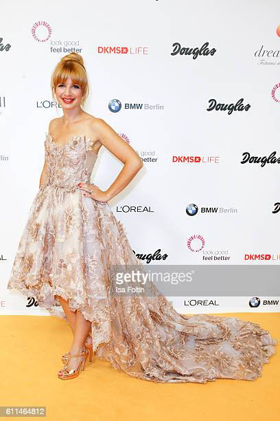 German actress Susan Sideropoulos attends the Dreamball 2016 at Ritz Carlton on September 29 2016 in Berlin Germany