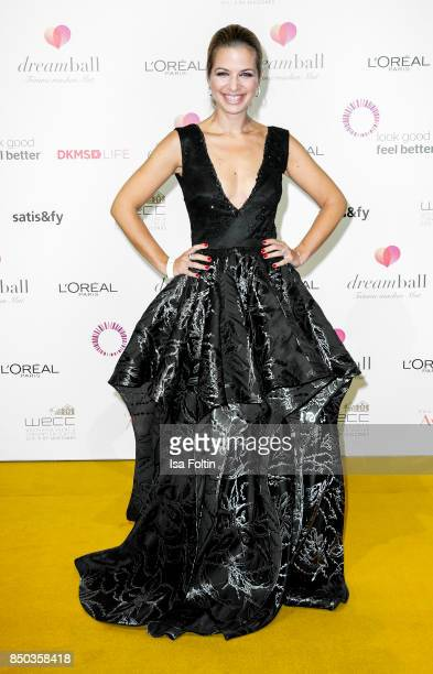 German actress Susan Sideropoulos attends the Dreamball 2017 at Westhafen Event Convention Center on September 20 2017 in Berlin Germany