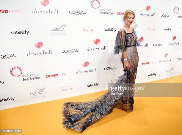German actress Susan Sideropoulos attends the Dreamball 2018 at WECC Westhafen Event Convention Center on September 19 2018 in Berlin Germany
