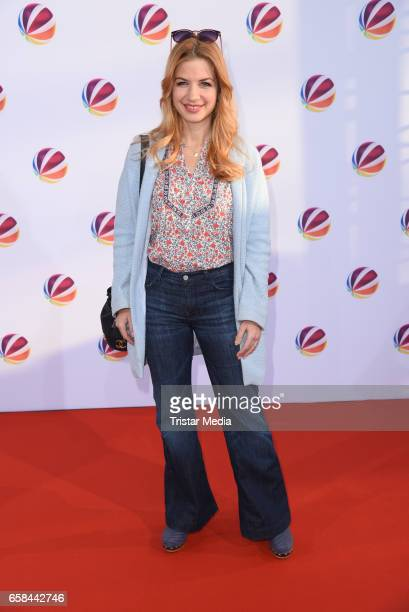 German actress Susan Sideropoulos attends the photo call for the television film 'Nackt Das Netz vergisst nie' at Astor Film Lounge on March 27 2017...