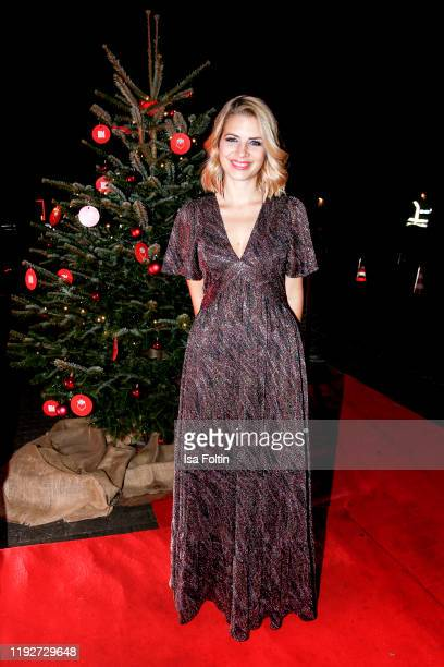 German actress Susan Sideropoulos during the Daimlers BE A MOVER event at Ein Herz Fuer Kinder Gala at Studio Berlin Adlershof on December 7 2019 in...