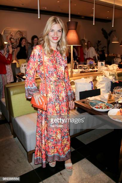 German actress Susan Sideropoulos during the Ladies Dinner at Hotel De Rome on July 1 2018 in Berlin Germany