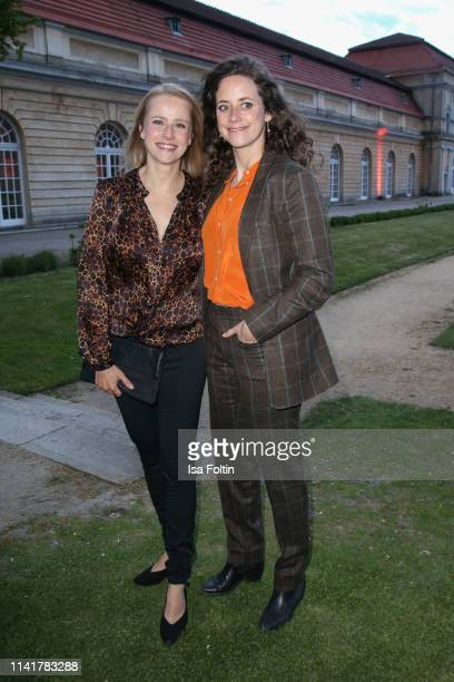 German actress Susanne Bormann and German actress Anja Knauer during the 14th Long Night of the Sueddeutsche Zeitung at Schloss Charlottenburg on May...