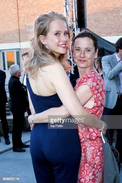German actress Susanne Bormann and German actress Inka Friedrich during the 13th Long Night of the Sueddeutsche Zeitung at Open Air Kulturforum on...