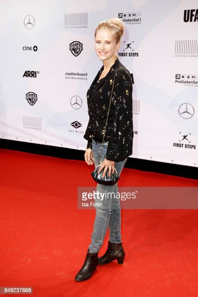German actress Susanne Bormann attends the First Steps Awards 2017 at Stage Theater on September 18 2017 in Berlin Germany