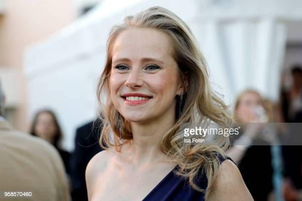 German actress Susanne Bormann during the 13th Long Night of the Sueddeutsche Zeitung at Open Air Kulturforum on January 14 2018 in Berlin Germany