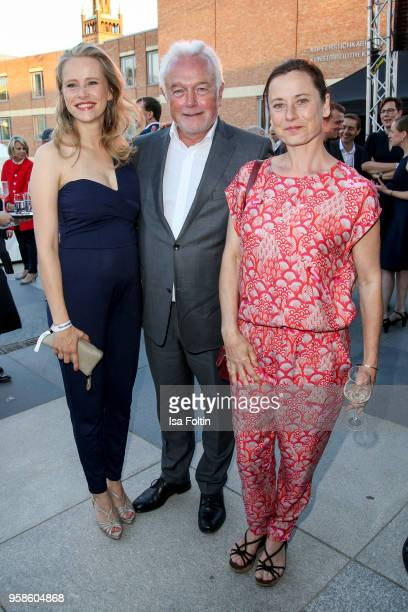 German actress Susanne Bormann German politician Wolfgang Kubicki and German actress Inka Friedrich during the 13th Long Night of the Sueddeutsche...
