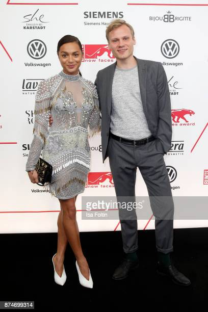 German actress Taneshia Abt and guest attend the New Faces Award Style 2017 at The Grand on November 15 2017 in Berlin Germany