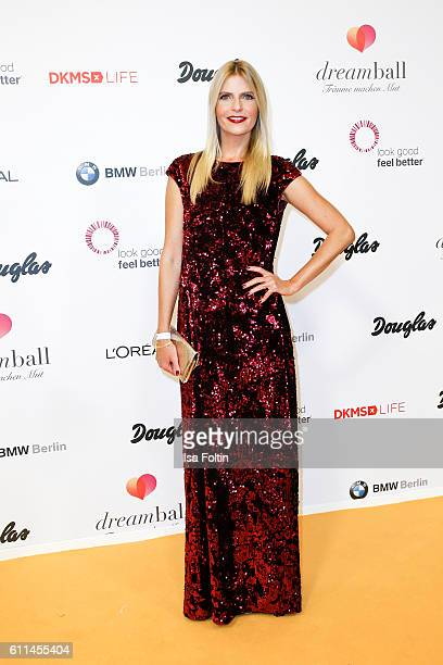 German actress Tanja Buelter attends the Dreamball 2016 at Ritz Carlton on September 29 2016 in Berlin Germany