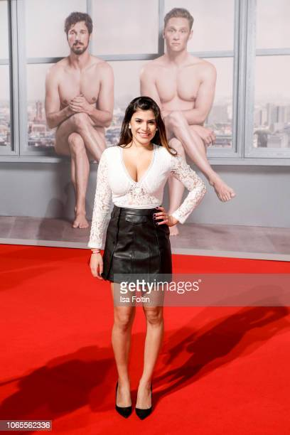 German actress Tanja Tischewitsch attends the German premiere of the movie '100 Dinge' at CineStar on November 26 2018 in Berlin Germany