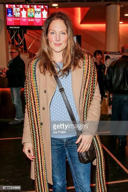 German actress Tessa Mittelstaedt attends the premiere of 'Der Mann aus dem Eis' at Zoo Palast on November 21 2017 in Berlin Germany