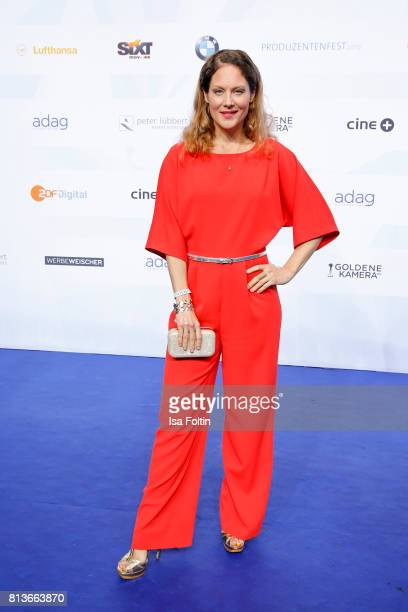 German actress Tessa Mittelstaedt attends the summer party 2017 of the German Producers Alliance on July 12 2017 in Berlin Germany