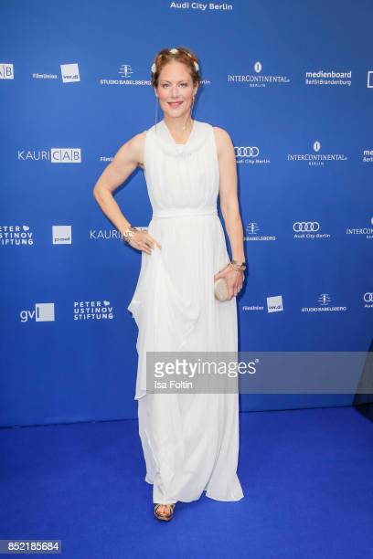 German actress Tessa Mittelstaedt during the 6th German Actor Award Ceremony at Zoo Palast on September 22 2017 in Berlin Germany
