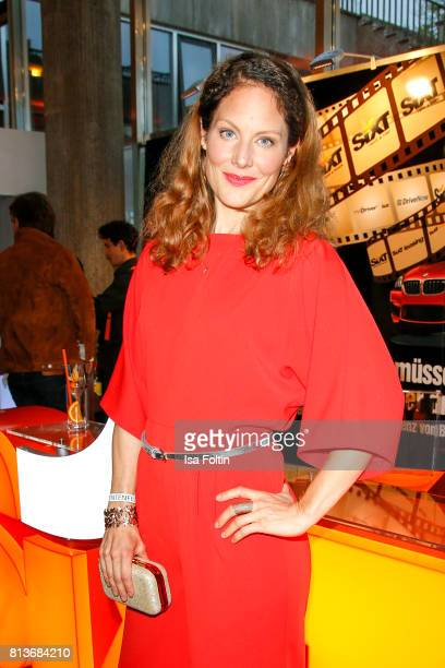 German actress Tessa Mittelstaedt during the summer party 2017 of the German Producers Alliance on July 12 2017 in Berlin Germany
