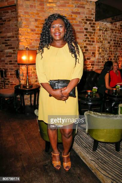 German actress Thelma Buabeng during the host of Annabelle Mandengs Ladies Dinner at Hotel Zoo on July 2 2017 in Berlin Germany