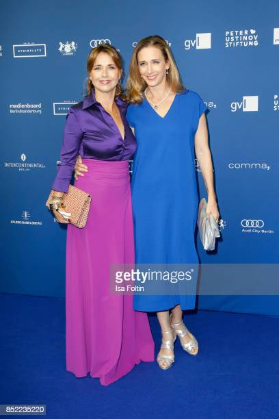 German actress Tina Ruland and German actress Kristin Meyer during the 6th German Actor Award Ceremony at Zoo Palast on September 22 2017 in Berlin...
