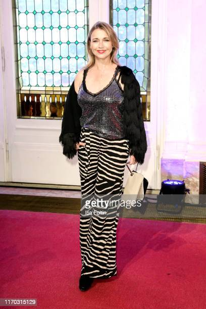 German actress Tina Ruland at the premiere of Mamma Mia Das Musical at Stage Theater des Westens on September 22 2019 in Berlin Germany