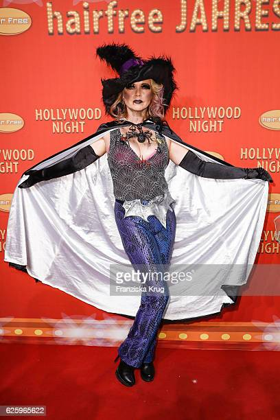 German actress Tina Ruland attends the Hollywood Superhero Fairytale Night hosted by Jens Hilbert on November 26 2016 in Darmstadt Germany