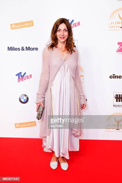 German actress Ulrike C Tscharre attends the Jupiter Award at Cafe Moskau on March 29 2017 in Berlin Germany