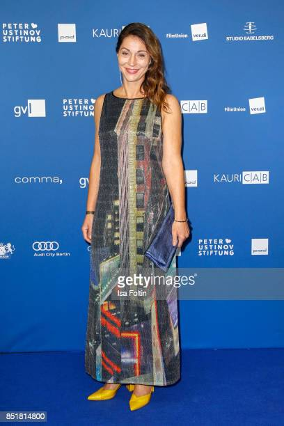 German actress Ulrike C. Tscharre during the 6th German Actor Award Ceremony at Zoo Palast on September 22, 2017 in Berlin, Germany.