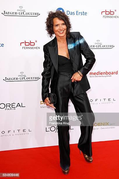 German actress Ulrike Folkerts during the Lola German Film Award 2016 on May 27 2016 in Berlin Germany
