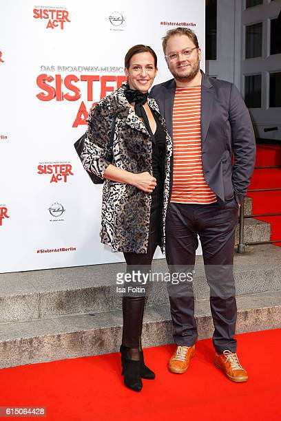 German actress Ulrike Frank and composer Marc Schubring attend the 'Sister Act The Musical' premiere at Stage Theater on October 16 2016 in Berlin...