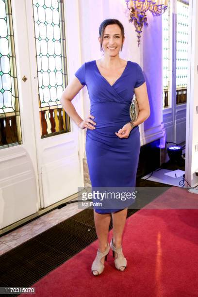 German actress Ulrike Frank at the premiere of Mamma Mia Das Musical at Stage Theater des Westens on September 22 2019 in Berlin Germany