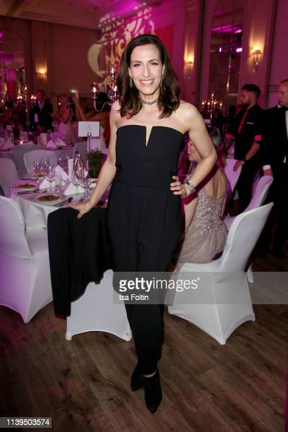 German actress Ulrike Frank attends the Gloria Deutscher Kosmetikpreis at Hilton Hotel on March 30 2019 in Duesseldorf Germany