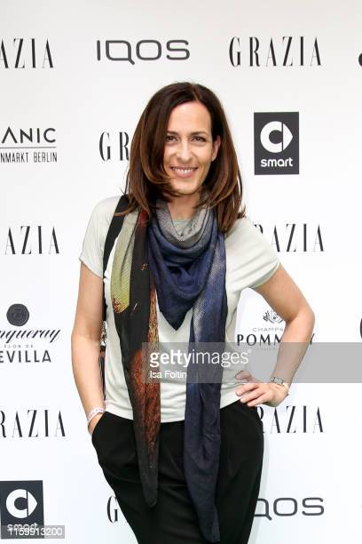 German actress Ulrike Frank during the Grazia Fashion Night at Titanic Hotel on July 3 2019 in Berlin Germany