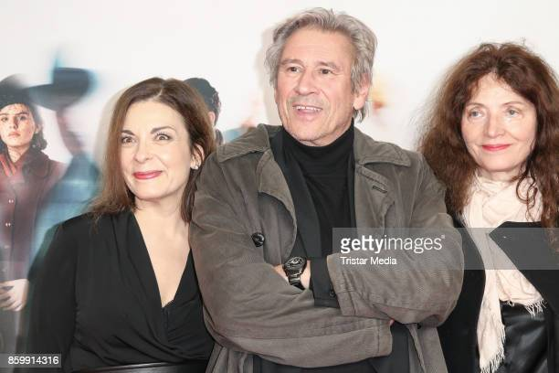 German actress Ulrike Lodwig German actor Michael Kind and his wife Ursula Andermatt attend the 'Die Unsichtbaren' Premiere at Kino International on...