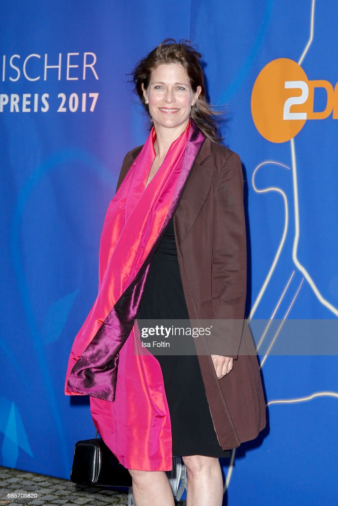 German actress Ursula Buschhorn attends the Bayerischer Fernsehpreis 2017 at Prinzregententheater on May 19, 2017 in Munich, Germany.