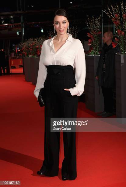 German actress Ursula Strauss attends the 'Mein Bester Feind' Premiere during day seven of the 61st Berlin International Film Festival at Berlinale...