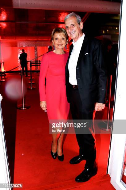 German actress Uschi Glas and her husband Dieter Hermann during the Daimlers BE A MOVER event at Ein Herz Fuer Kinder Gala at Studio Berlin Adlershof...