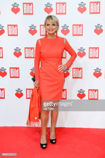 German actress Uschi Glas attends the 'Ein Herz fuer Kinder Gala' at Studio Berlin Adlershof on December 9 2017 in Berlin Germany